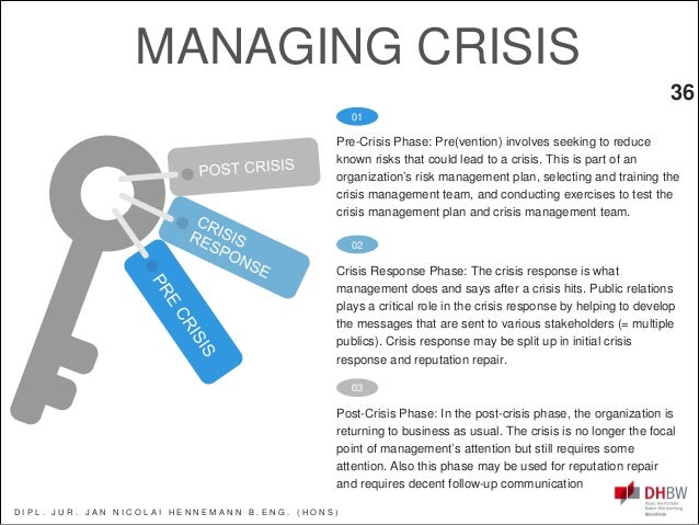 crisis and conflict management pdf