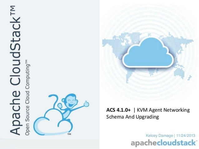 ACS 4.1.0+ | KVM Agent Networking Schema And Upgrading  Kelcey Damage | 11/24/2013