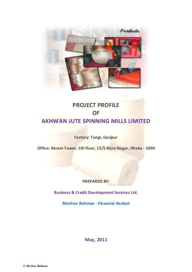 Project Profile Akwan