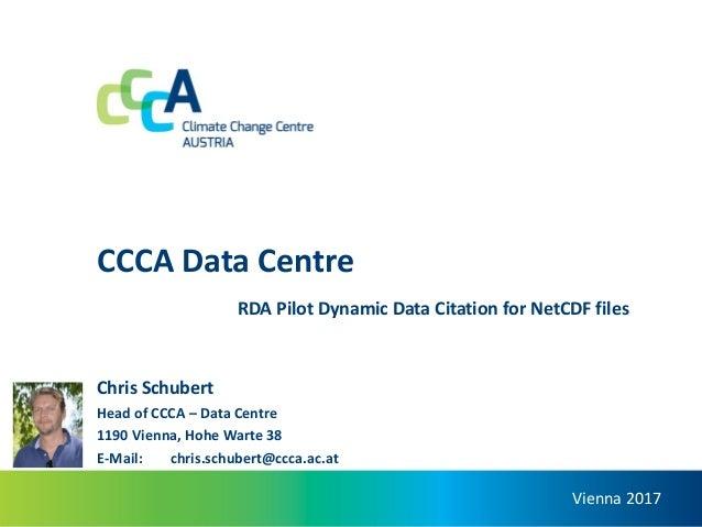 Ccca Data Centre Dynamic Data Citation For Netcdf Files