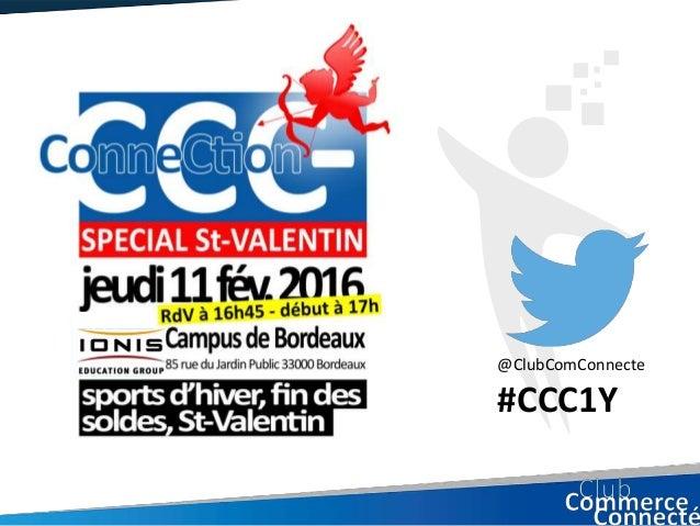 @ClubComConnecte #CCC1Y