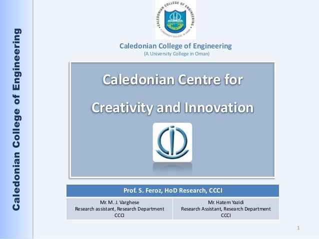 Caledonian College of Engineering                                                       Caledonian College of Engineering ...