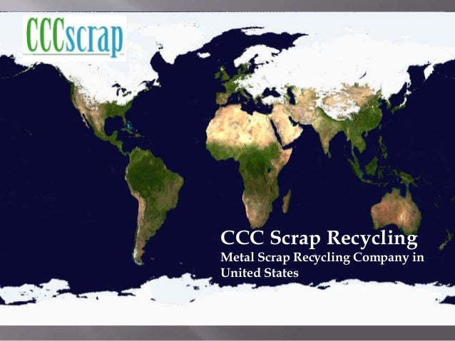 Scrap Metal Recycling Company in New York, United States