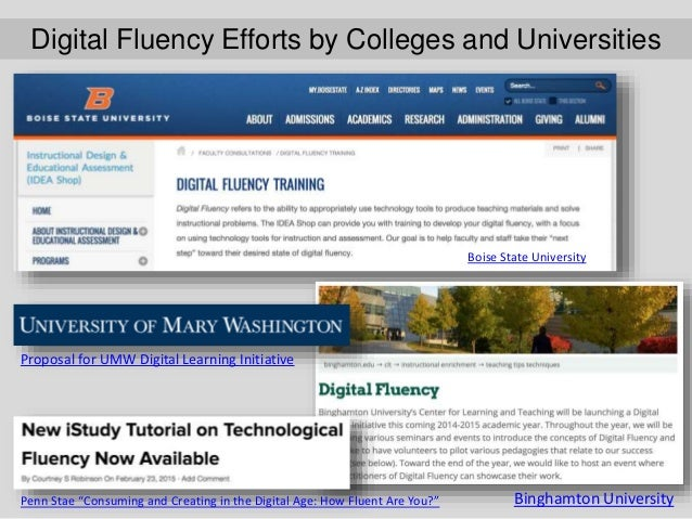 Digital Fluency Initiative–George Fox University This wordle was generated from faculty comments regarding perceived needs...