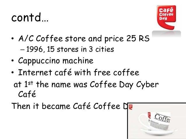 Cafe Coffee Day Coffee Machine India