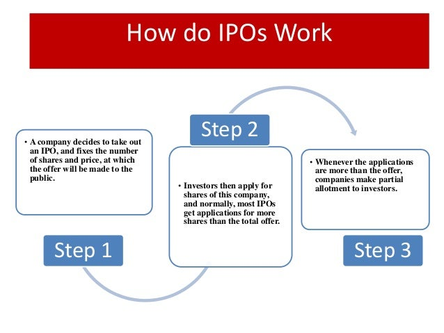 What is an ipo and how does it work