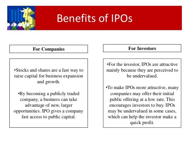 What makes a ipo attractive