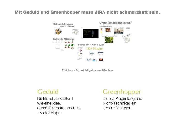 CCD 2011:  JIRA is pain – Wie man den Schmerz  und die Angst vor Transparenz überwindet (Martin Seibert)