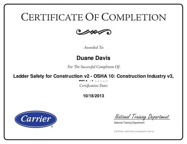 Pure Safety Training Diplomas