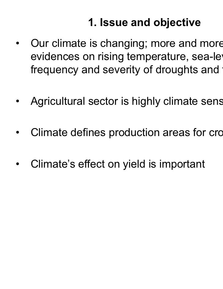 an analysis of the impact of climate in tropical africa on food production 31 climate change and food production 15  2 climate impacts on food security and nutrition  climate change on food security and nutrition.