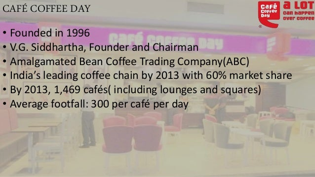 Cafe Coffee Day Competitors In India