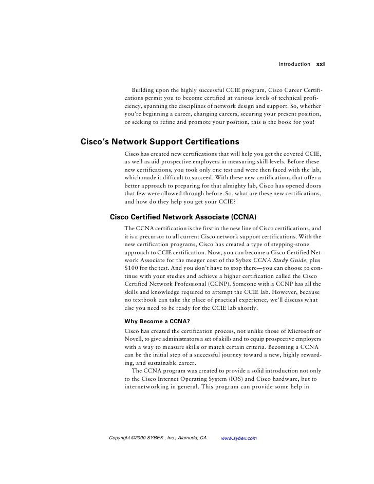 CCNA Routing and Switching Study Guide - All IT eBooks