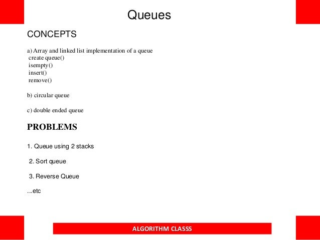 C Program to implement QUEUE operations using Linked Lists