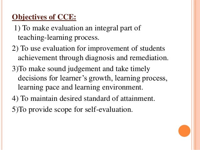 continous and comprehensive evaluation Continuous and comprehensive evaluation - cce: a critical analysis, churu,rajasthan (india) 833 likes 2 talking about this an effort to seek.