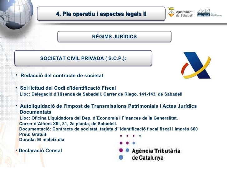 cce 2012 pla operatiu i aspectes legals ii