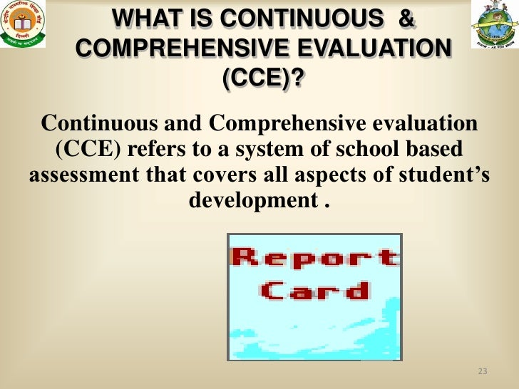CCE Guidelines