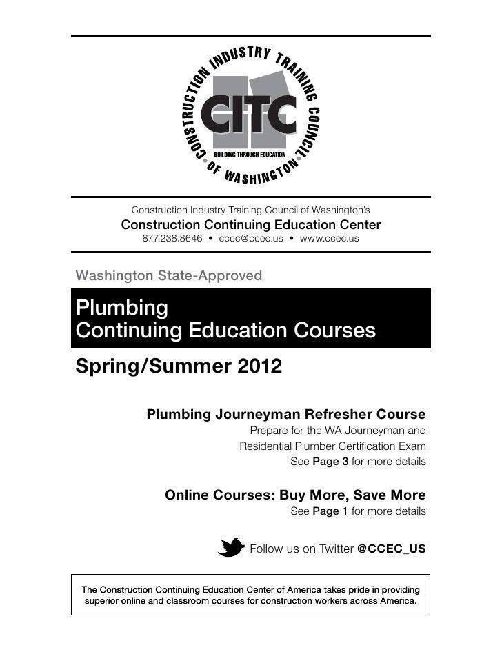 Spring 2012 Plumbing Catalog