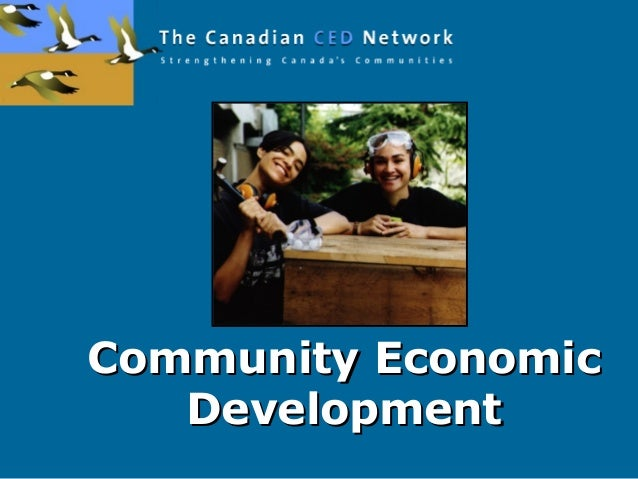 Community EconomicCommunity Economic DevelopmentDevelopment