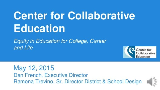 Collaborative Teaching Degree ~ Center for collaborative education massachusetts