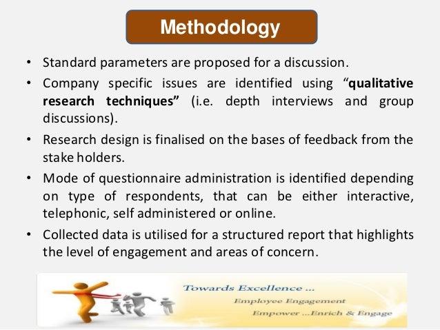 employee engagement methodology