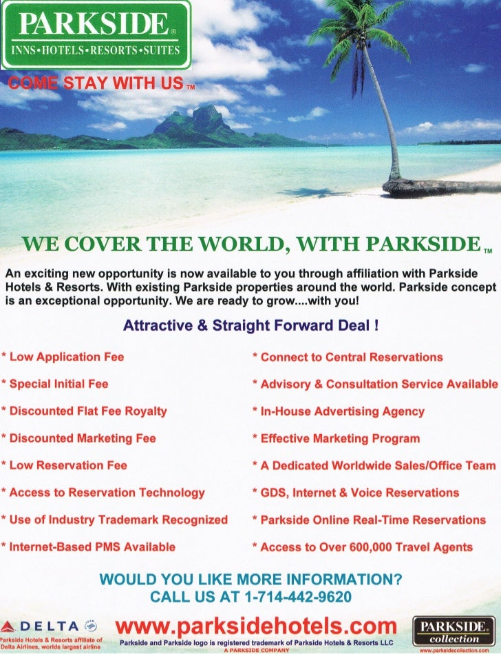 Parkside Feature Summary
