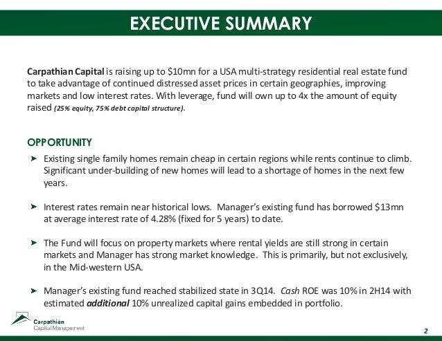 Carpathian Capital Fund II Investor Presentation