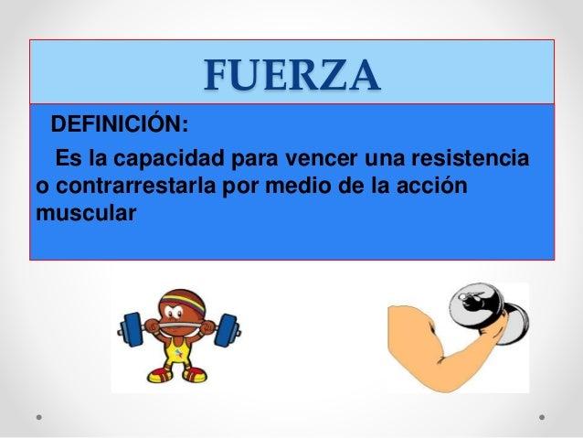 Capacidades f sicas b sicas for Fuera definicion