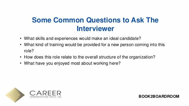 Interview Skills That Get You Hired