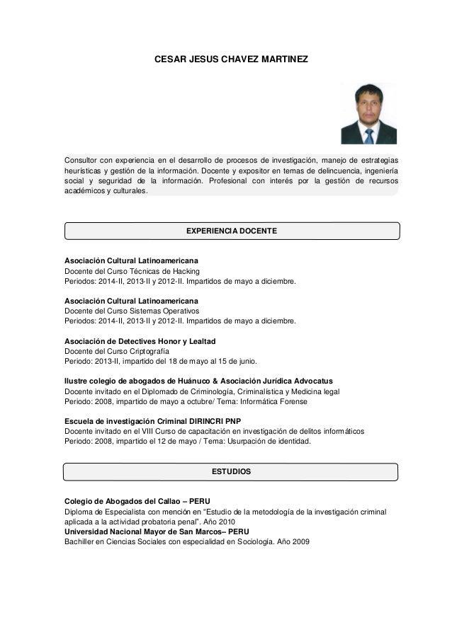 plantilla curriculum vitae vigilante de seguridad - 28 images - 10 ...
