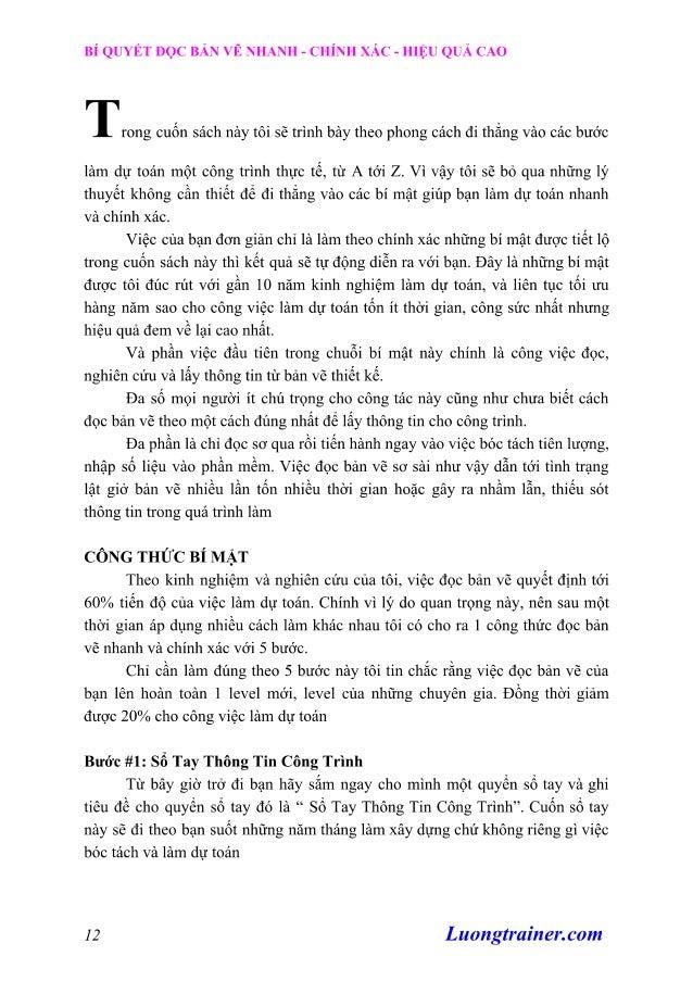 Cách Đọc Bản Vẽ Xây Dựng Nhanh Chóng, Chính Xác, Hiệu Quả Cao Slide 2