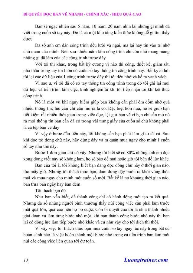 Cách Đọc Bản Vẽ Xây Dựng Nhanh Chóng, Chính Xác, Hiệu Quả Cao Slide 3
