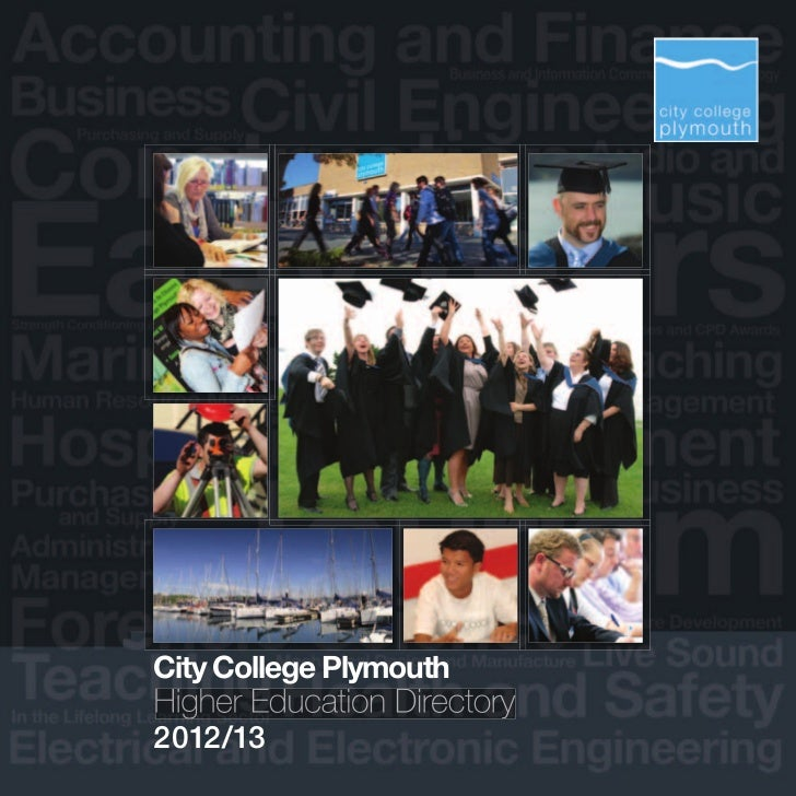 CityCollegePlymouthHigher Education Directory2012/13