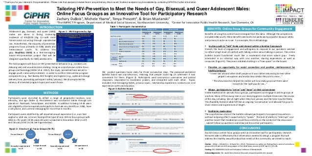 Tailoring HIV-Prevention to Meet the Needs of Gay, Bisexual, and Queer Adolescent Males: Online Focus Groups as an Innovat...