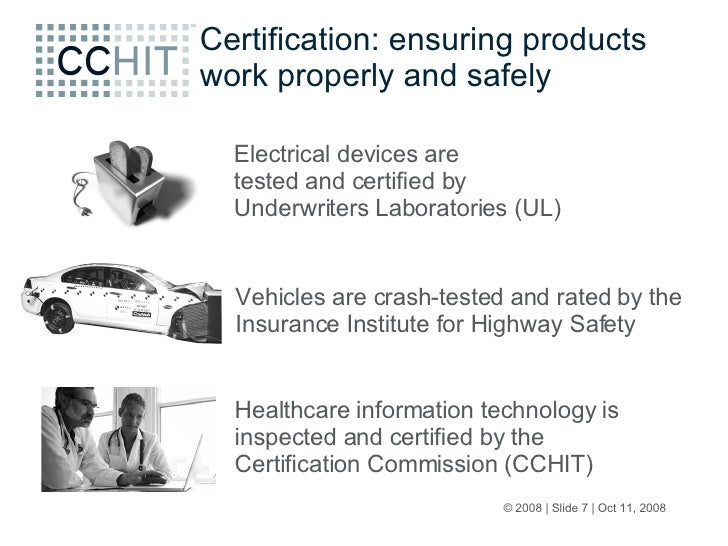 Cchit Town Call Phr Certification 09