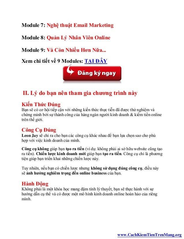 Cách kiếm tiền trên mạng - Kiếm tiền tại nhà với internet Slide 3