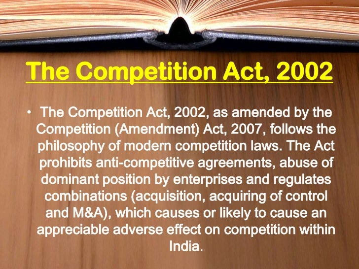 COMPETITION COMMISSION OF INDIA EPUB
