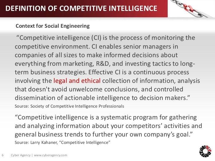 definition of intelligence