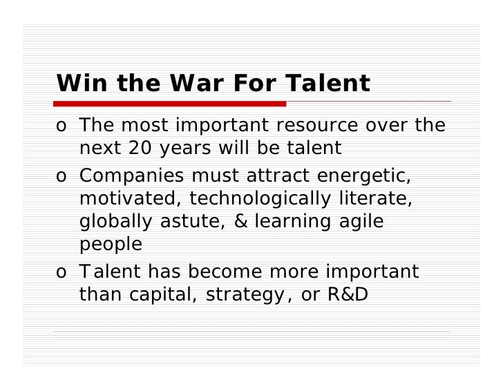 The Chief Talent Officer: Conquering The War On Talent