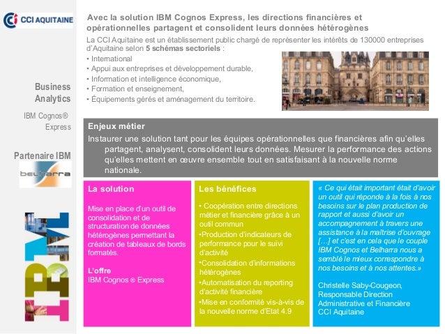 La CCI Aquitaine est un établissement public chargé de représenter les intérêts de 130000 entreprises d'Aquitaine selon 5 ...