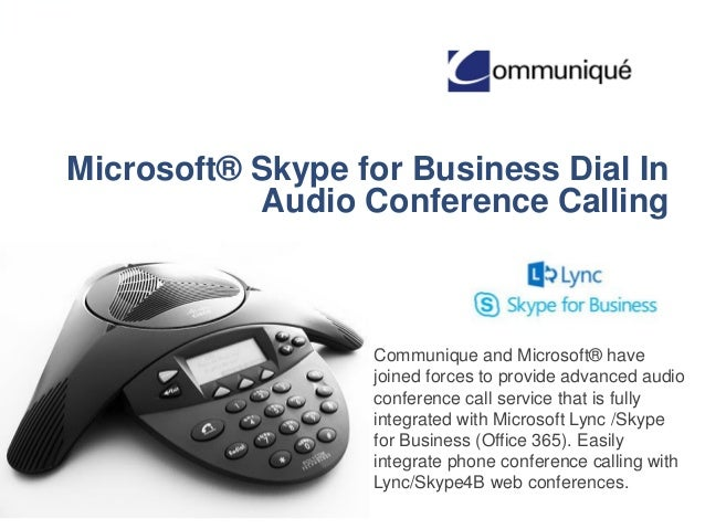 skype for business how to make a call