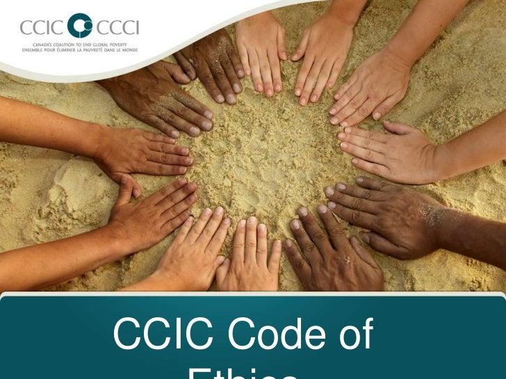 CCIC Code of