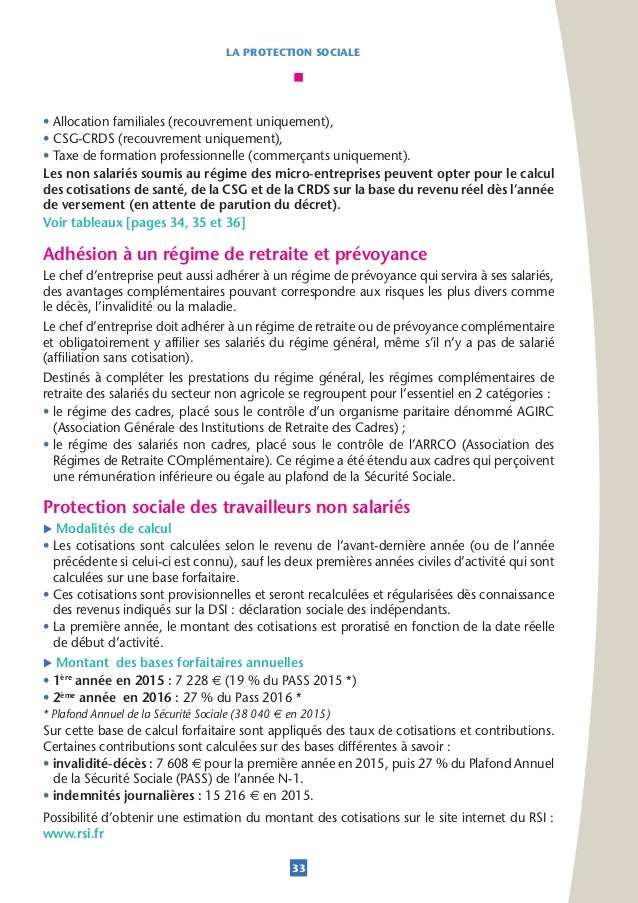 Cci de bordeaux guide creation d entreprise 2015 2016 - Plafond annuel de la securite sociale 2014 ...