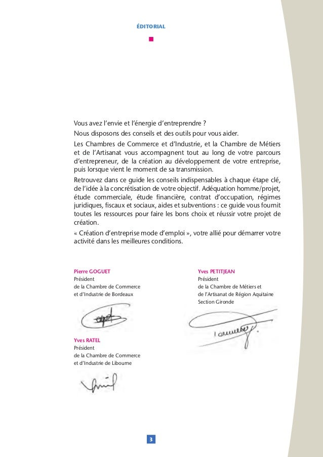 Cci de bordeaux guide creation d entreprise 2015 2016 for Meilleures idees creation entreprise