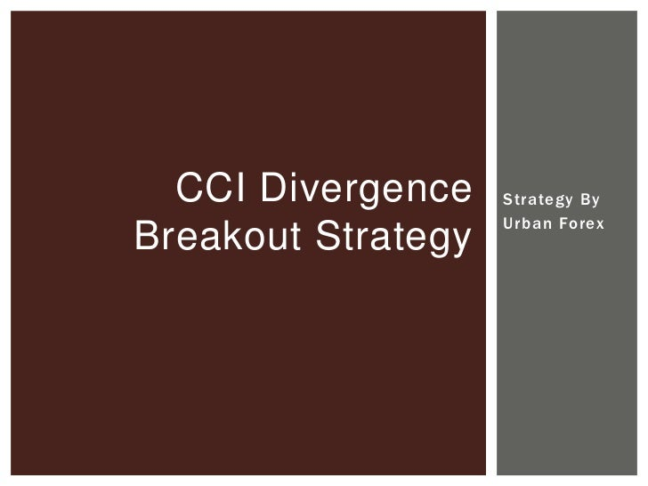 Cci divergence binary options