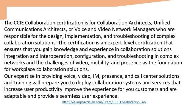 CCIE Collaboration Lab Dumps