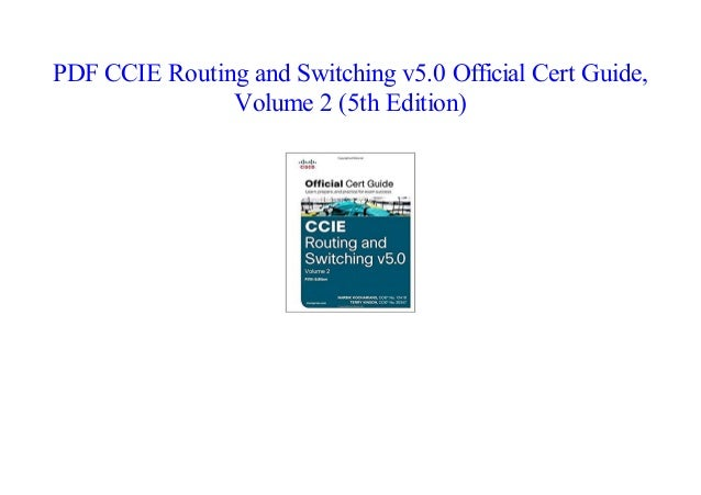 5th guide pdf and switching edition routing certification ccie
