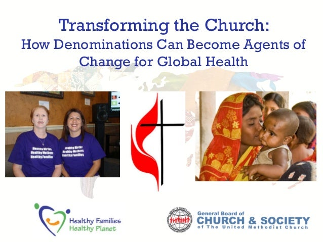 Transforming the Church: How Denominations Can Become Agents of Change for Global Health