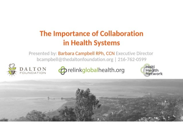 Implementing a Comprehensive Equipment Management Program Haiti Model Ray Dalton Founder and Executive Chairman