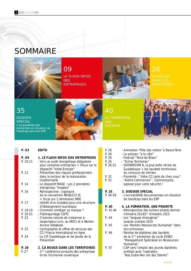 Cci magazine n 28 juillet 2015 cci iles de guadeloupe for Chambre de commerce guadeloupe