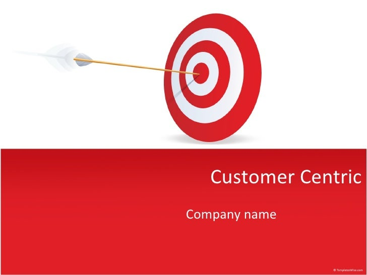 Customer Centric Company name